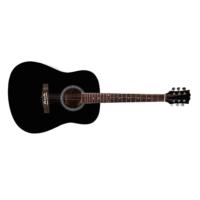 chitarra acustica nera