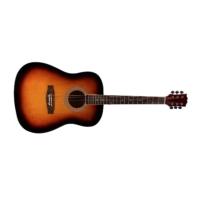 chitarra acustica sunburst