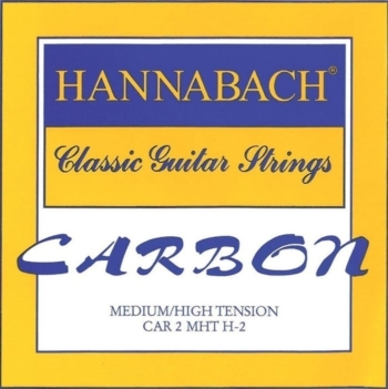 corde chitarra classica carbon hannabach