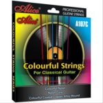 corde chitarra classica colorate