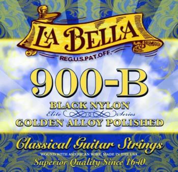 muta chitarra classica 900-b nere la bella