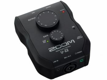 scheda audio zoom u22