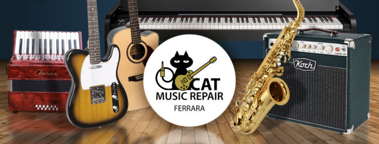 cat music repair banner