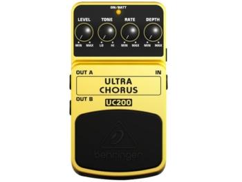 Pedale Effetto Ultra Chorus UC200 Beheringer