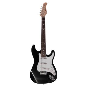 chitarra elettrica nera