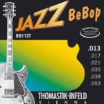 ottone placcato P20 per Chitarra Elettrica set Jazz Bebop BB112 Thomastik corda Sol .020 Acciaio bianco