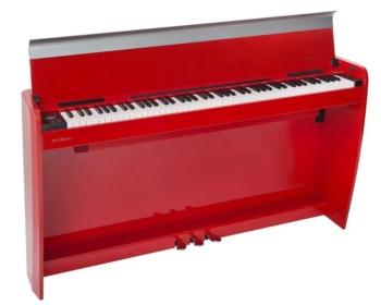 dexibell h7 rosso lucido