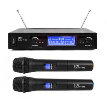 radiomicrofono doppio xt