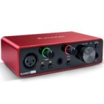 scheda audio scarlett 2i2 focusrite