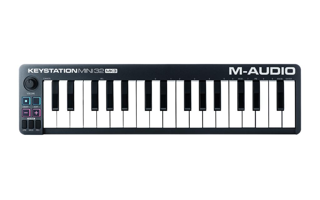 m-audio mk3 mini 32 controller