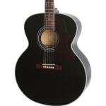 chitarra acustica epiphone nera