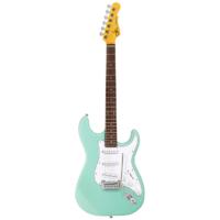 chitarra elettrica g&l tribute legacy surf green