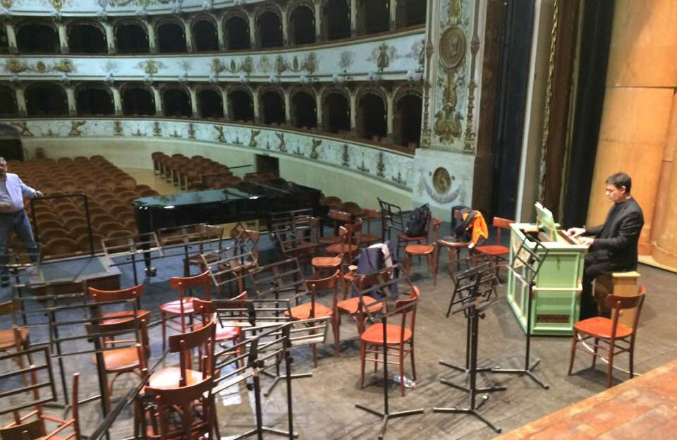Paukenmesse, Teatro Abbado di Ferrara
